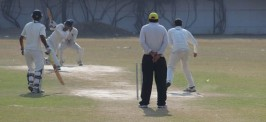 MESSAGE Rising Cup 2014-15 at S J Public School cricket Ground