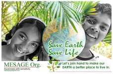 earthday message ngo