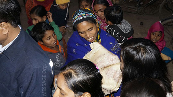 Winter clothes distribution drive